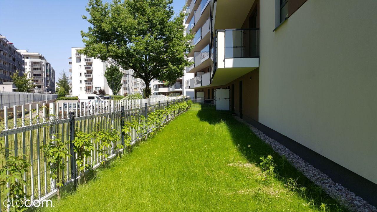 3 pokoje 70m parter, ogródek 105m, Metro Wola Park