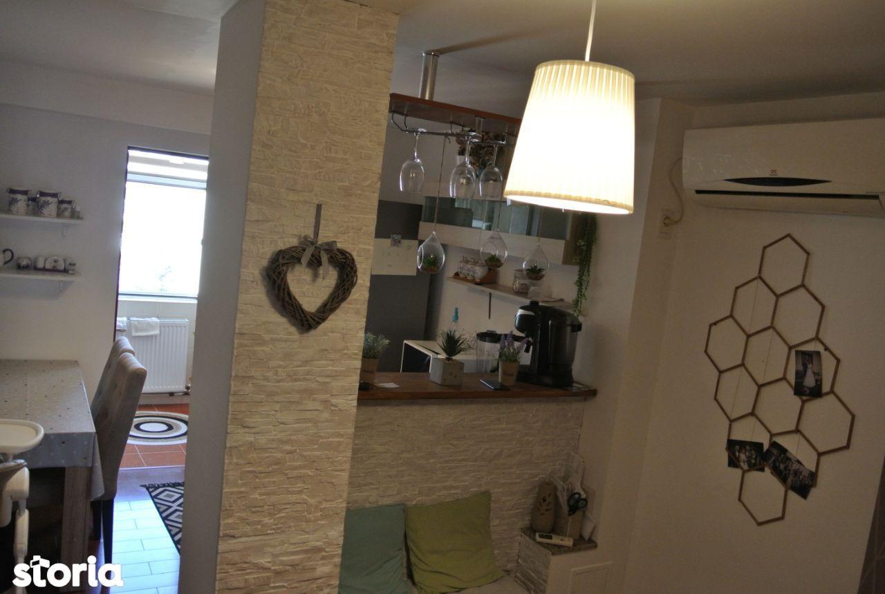 3 camere Tudor , Decomandat / mobilat / partial utilat , modern !