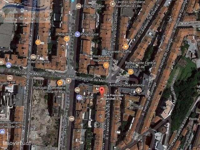 Loja para comprar, Rua Francisco Sanches, Arroios - Foto 2