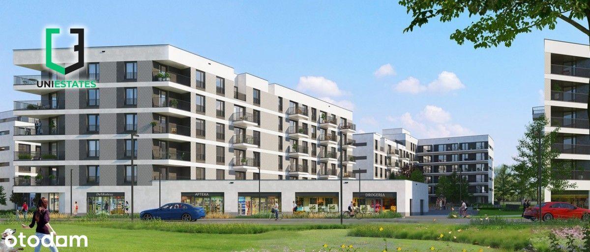 ul. Banacha | 2 pokoje + balkon | 40,7m2| Bez Pcc!