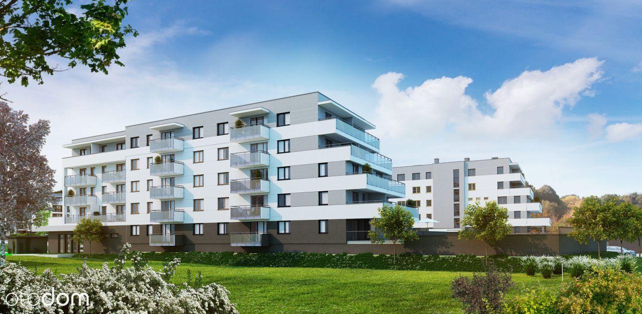 Osiedle Zacisze, mieszkanie 2 pokojowe duży balkon