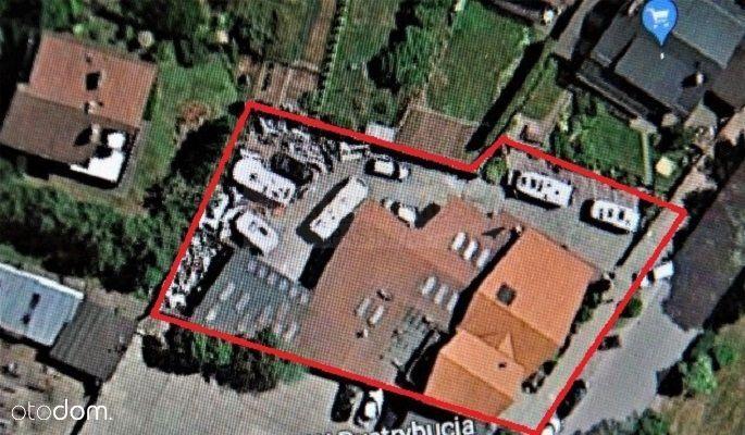 Hala/obiekt z powierzchnią mieszkalną/centrum!