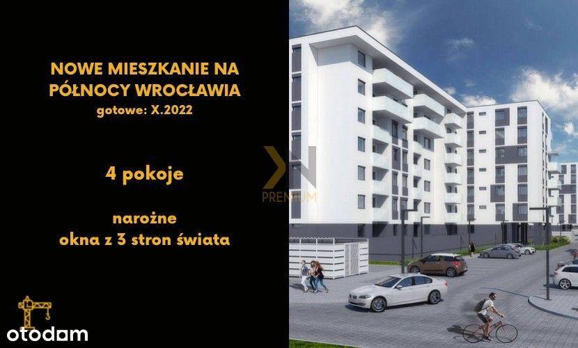4 pokoje | 72,6m2 | stan deweloperski | 0% Pcc