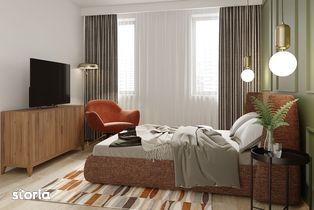Qualis II: Apartament 2 camere 52.03 mp, zona Coresi, Tractorul