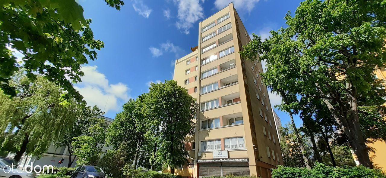 Dwupokojowe mieszkanie – 38m2 - GDYNIA – CENTRUM