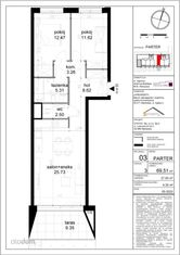 Mieszkanie 3 pokoje (ogródek, balkon) Białołęka