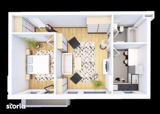 Solaris Prisma, Apartament 2 camere, str. Oasului nr. 51-55