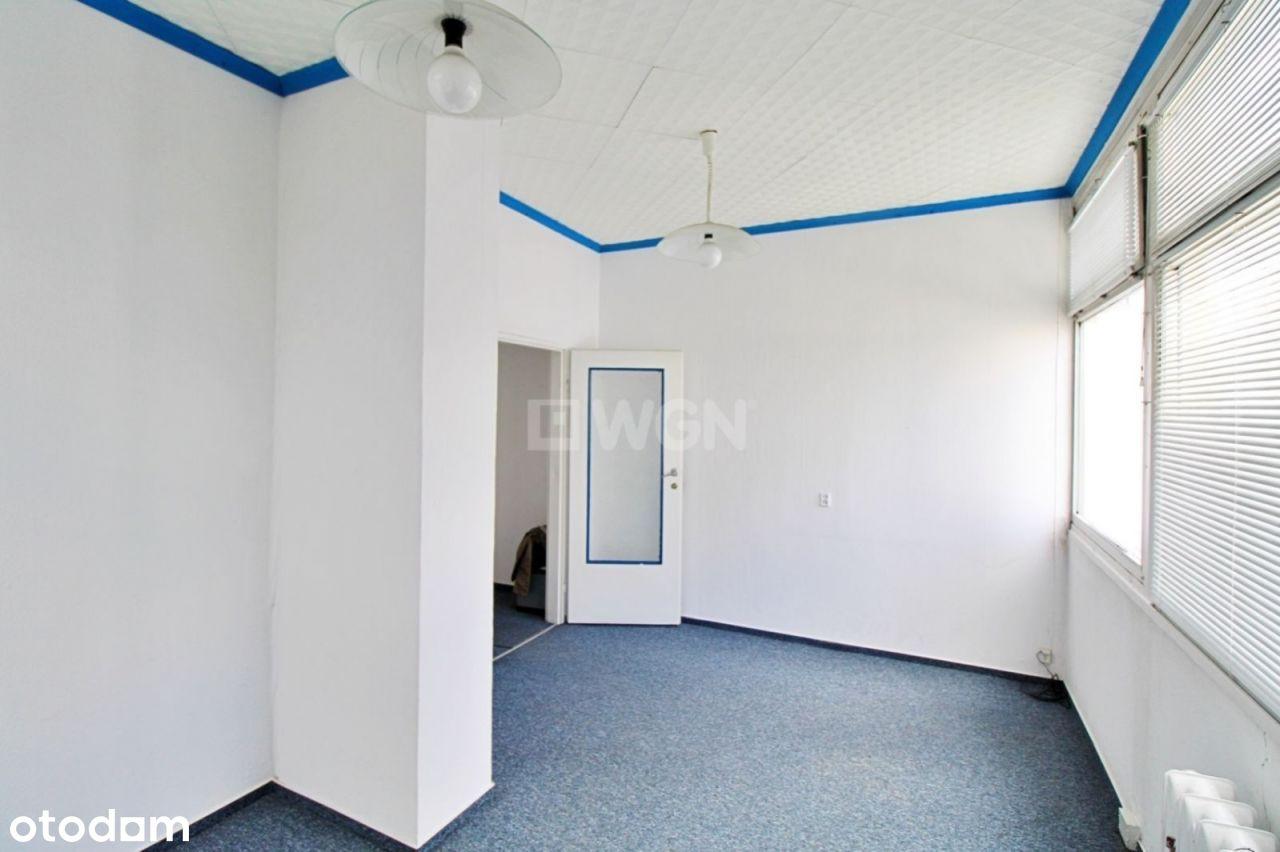Lokal użytkowy z księgą wieczystą na 1 piętrze
