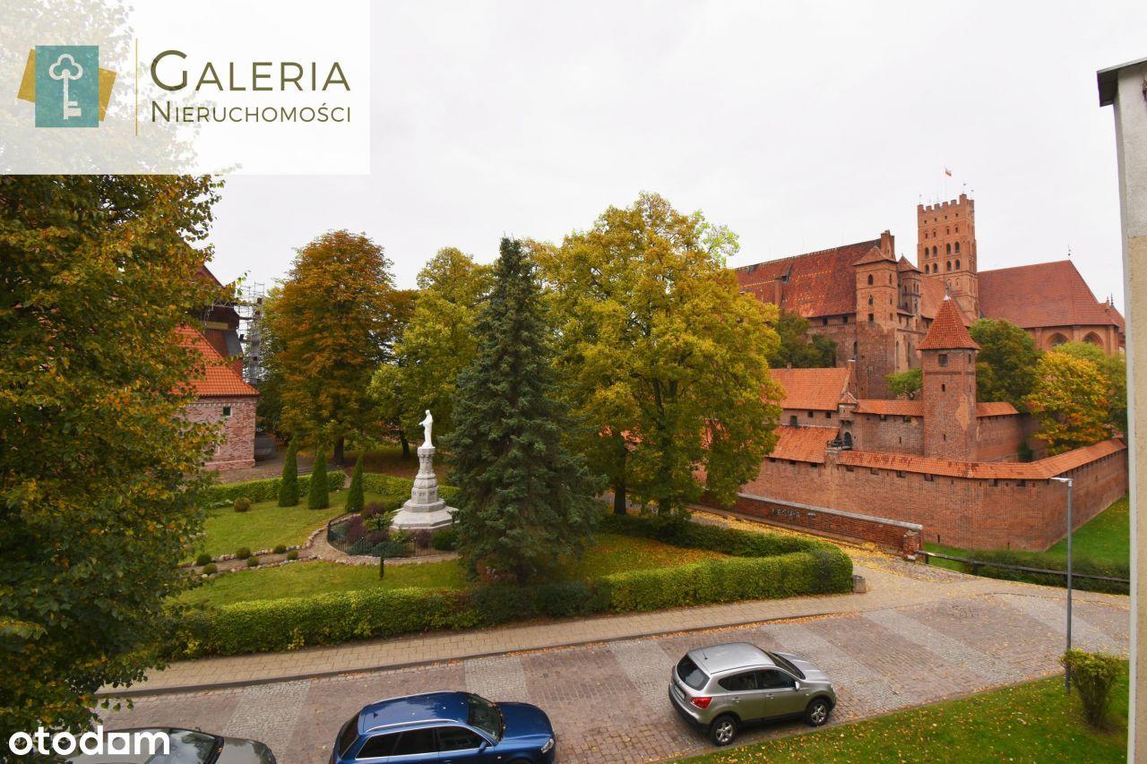 3pokojowe mieszkanie z widokiem na Zamek Krzyżacki