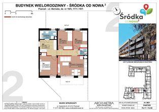 Mieszkanie A1.M01 Poznań Śródka OdNowa 2