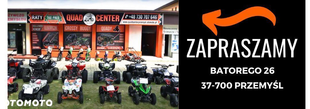 Bashan  Mini Quad ATV 49cc Junior Alufelgi DWUSUW 2T Tax Free - 10