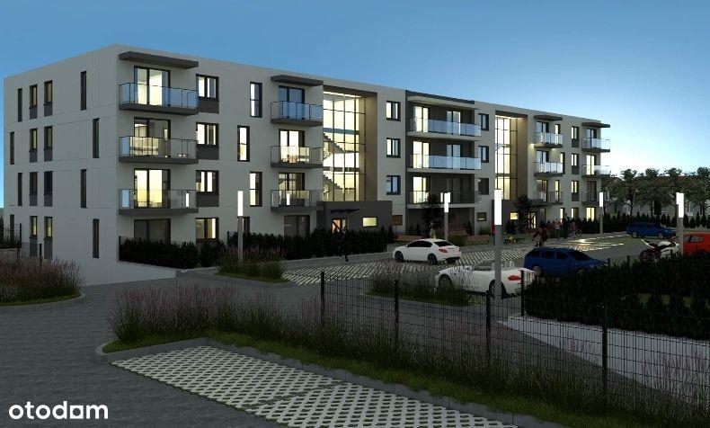 Mieszkania z ogródkiem 2,3 pokojowe ul.Sportowa
