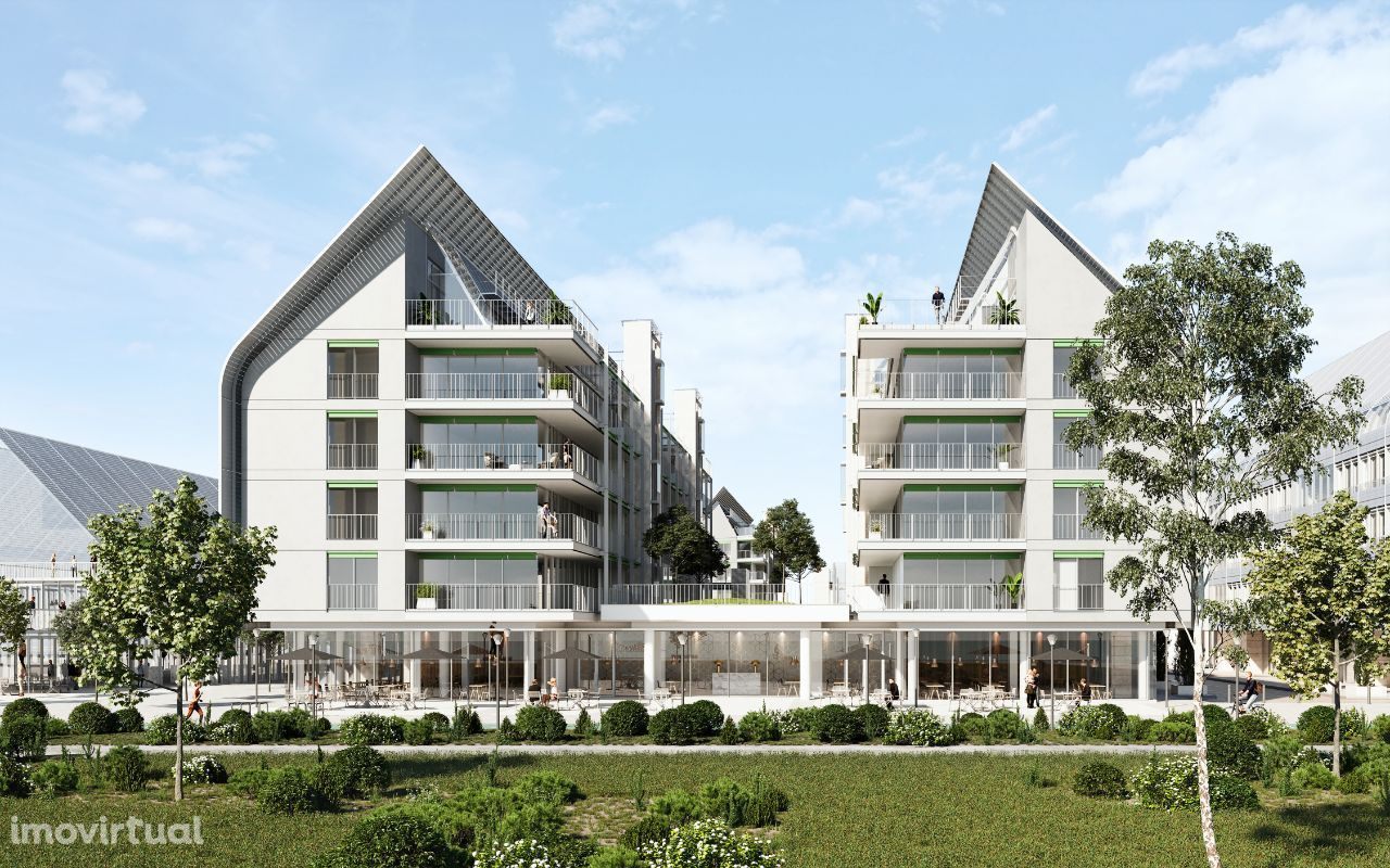 Edifício URBAN - Apartamento T1 Bloco A-3C