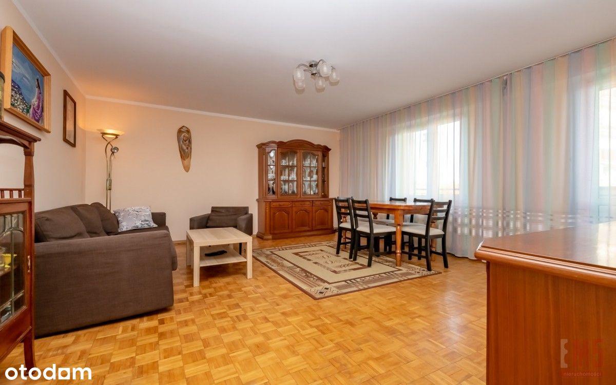 4 pokoje, parter z balkonem, Wysoki Stoczek