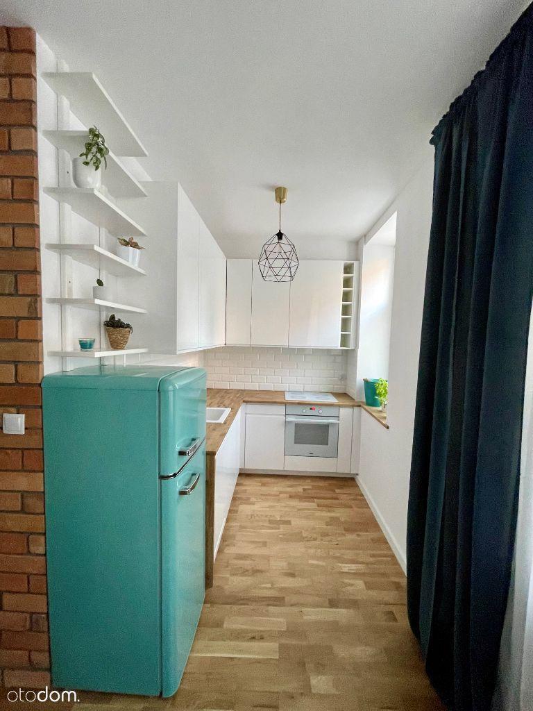 Nowoczesne//balkon/2 sypialnie + salon z kuchnią