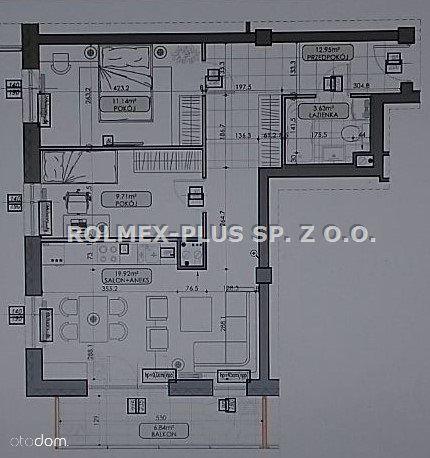 Mieszkanie, 57,34 m², Lublin
