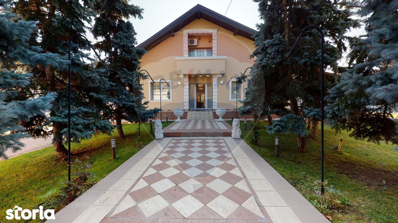 Casa lux de vanzare 6 camere, Otopeni/Ferme