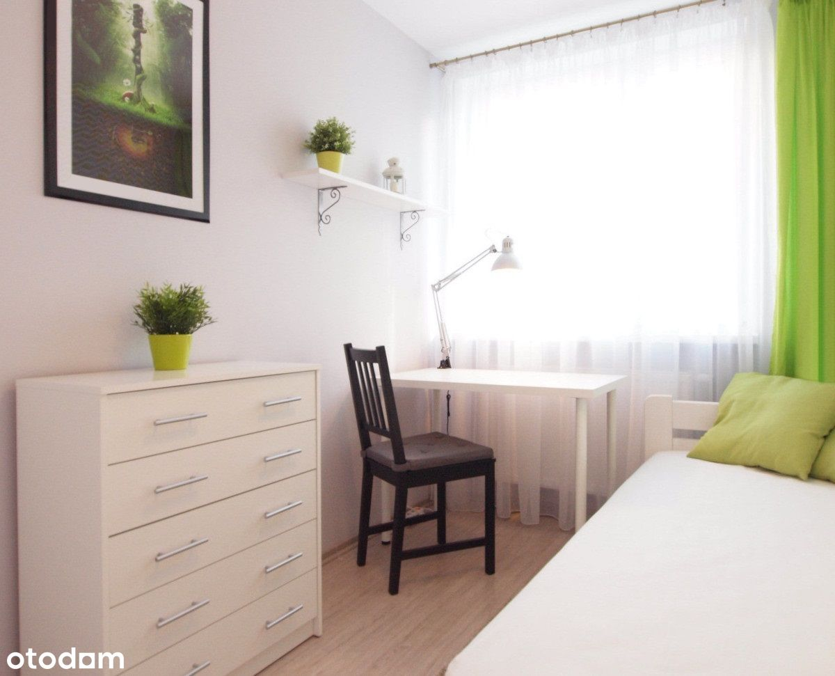 Przytulny pokój na Bemowie, przy ulicy Morcinka