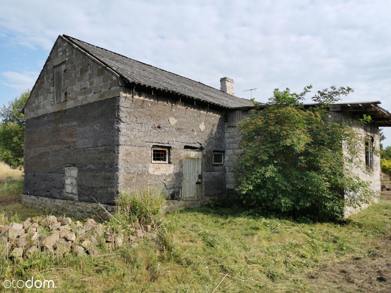 Duża dz. bud. z domem do remontu lub rozbiórki