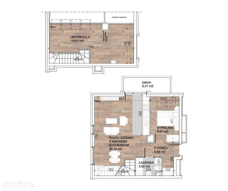 Luksusowe mieszkanie w górach 70m2 - Sobótka