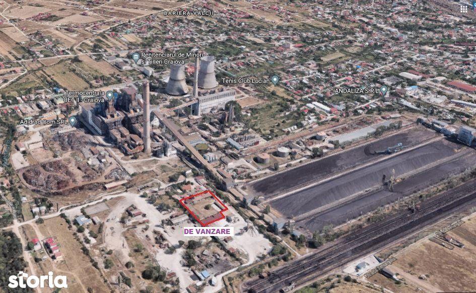 CRAIOVA Spatiu industrial - 1.000mp + Teren - 4.000mp- BARIERA VALCII