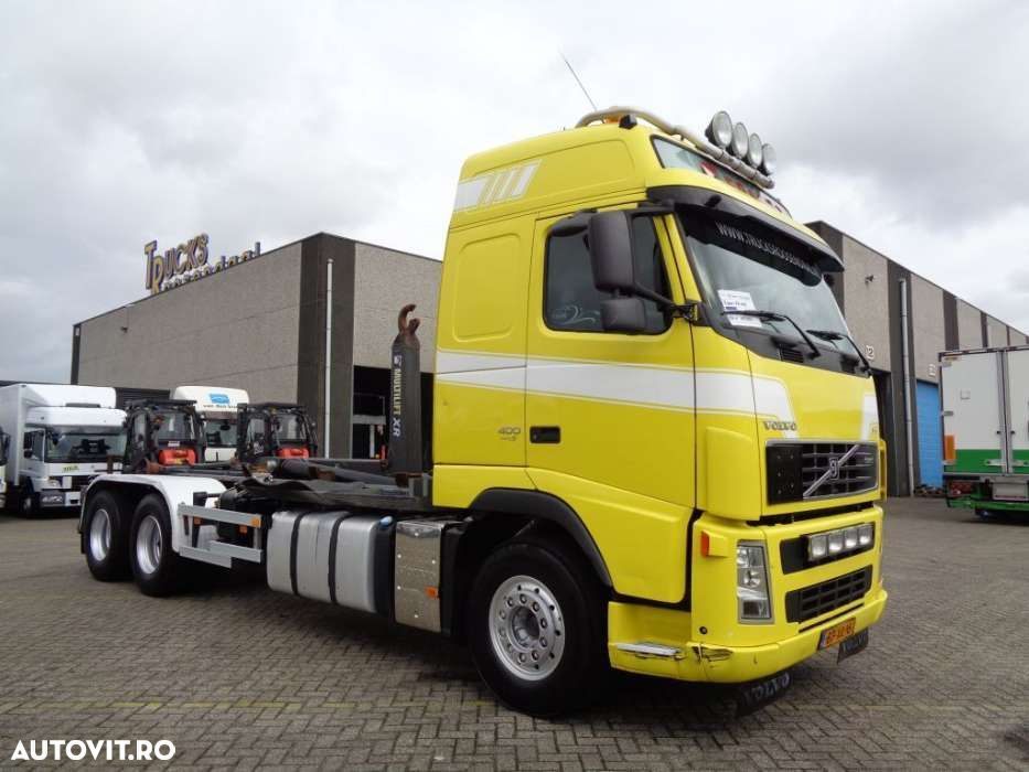Volvo FH 400 + Euro 5 + 10 tyres + Hook system - 3