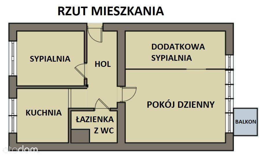 Dziesięciny - wygodne mieszkanie z potencjałem!