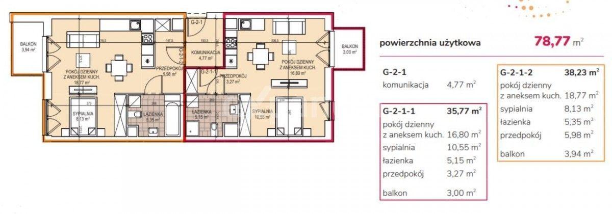 Zabłocie - mieszkanie z możliwością podziału na 2