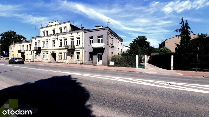 Obiekt mieszkalno-usługowy w centrum Grodziska Maz