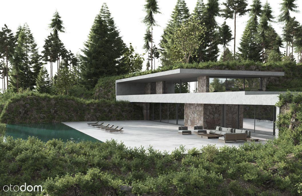 Cicha działka przy lesie, idealna pod duży dom.