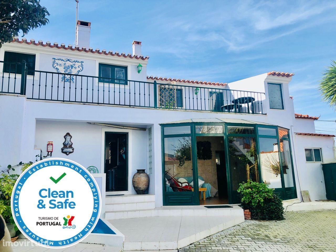 Santa Cruz - Casa da Vinha - Quinta no campo a 2Km da praia