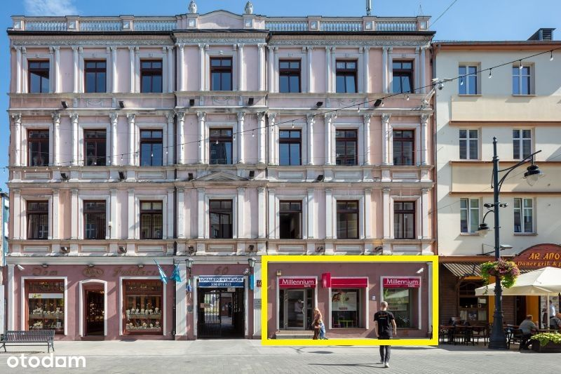 Piotrkowska, handlowo-usługowy, parter, front