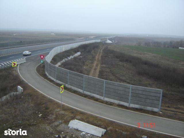 Teren 4325mp Moara Vlasiei Nod Autostrada A3 Soseaua Unirii