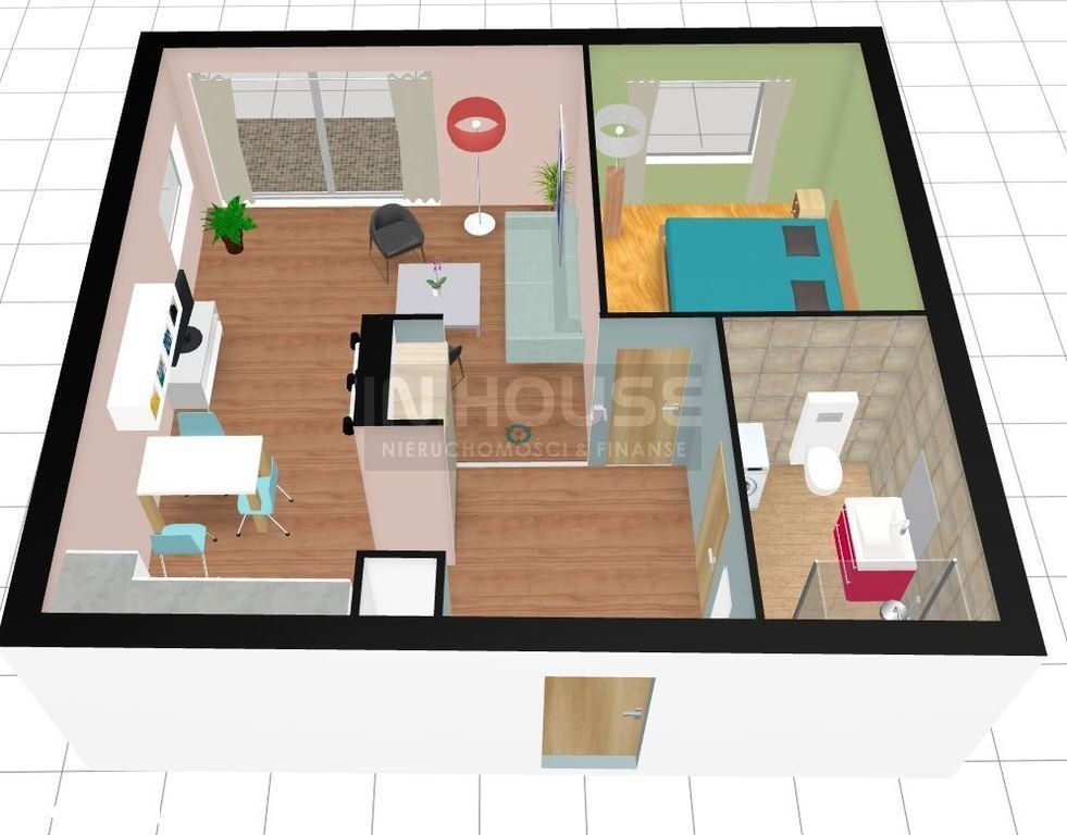 Apartament 2 pokojowy na nowym osiedlu