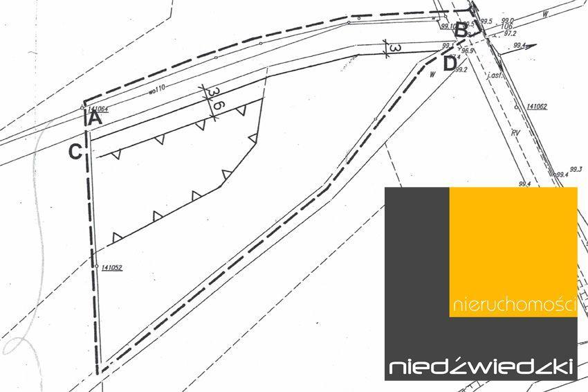Działka, 5 727 m², Nekla
