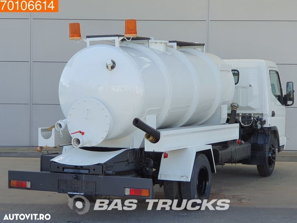 Mitsubishi Fuso Canter 4X2 Unused! Sewage Tank Full-steel - 5