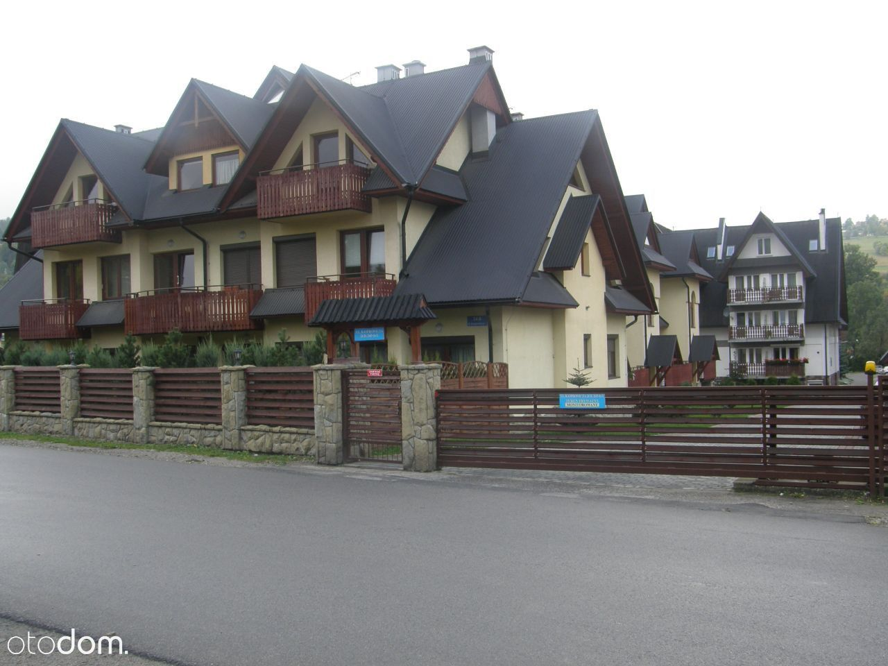 Zakopane ul. Szymony, balkon, taras/ogródek