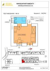 Mieszkanie nr 53 (Budynek A) SPRZEDANE