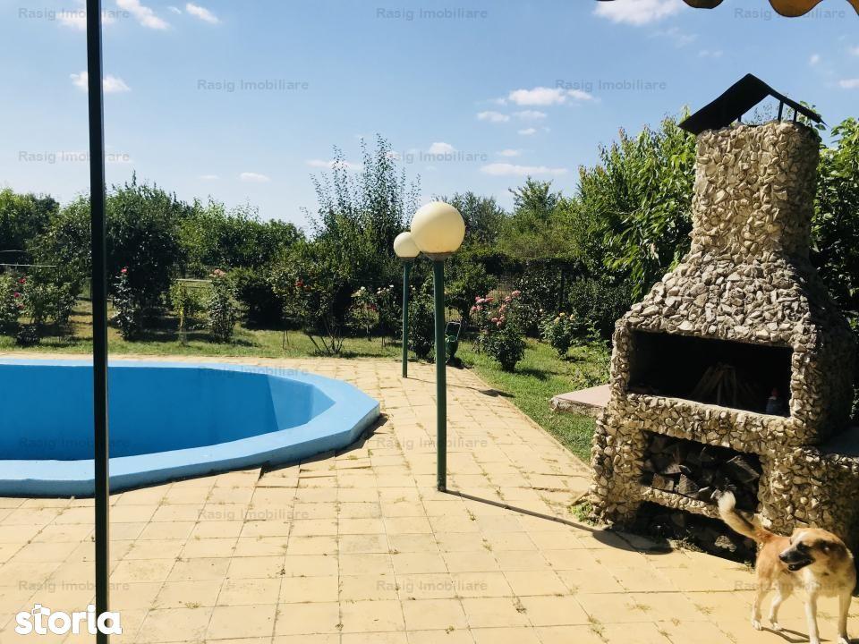 Vila Mogosoaia, piscina, padure, 2600 mp teren