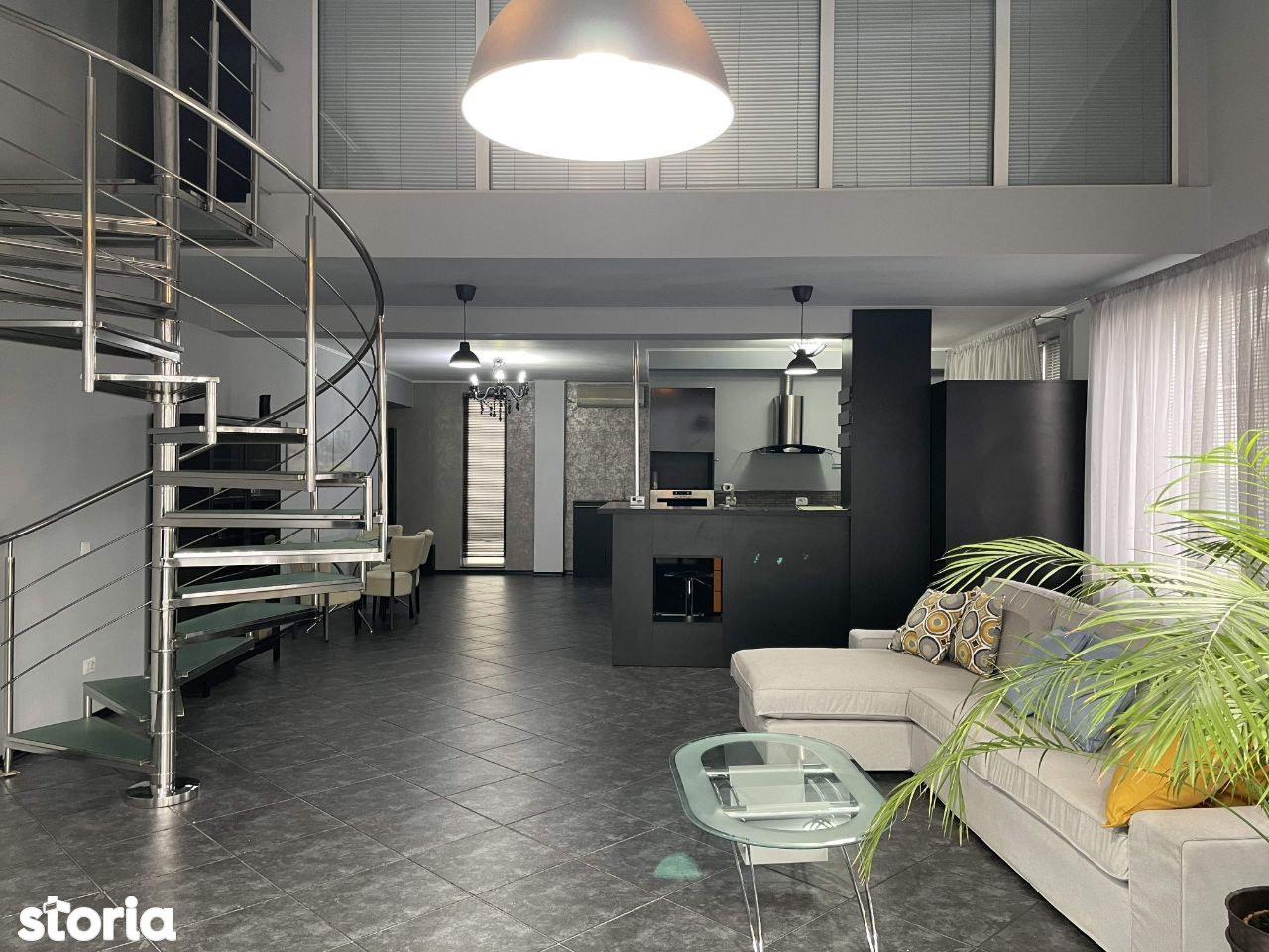 3 cam, PREMIUM, 130 mp, cu scara interioara, etaj 2+ 3, mobilat+utilat