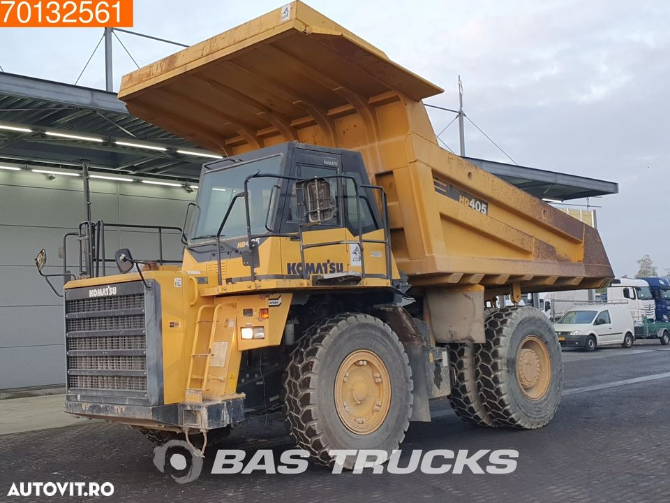 Komatsu HD405-7 GERMAN RIGID TRUCK - LOW HOURS - 2
