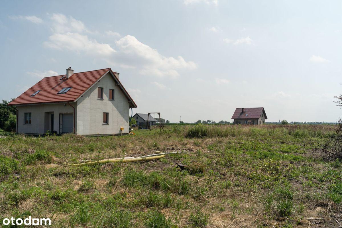 Działka budowlana 1876 m2 Wojnowice