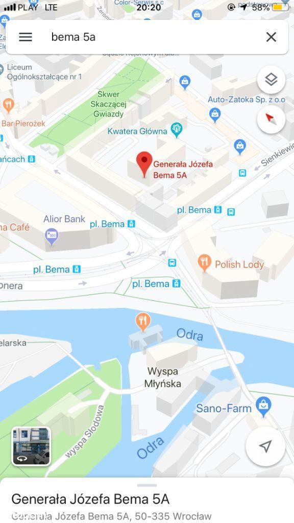 Duży pokój BEMA - Prusa Wyszyńskiego GRUNWALDZKI