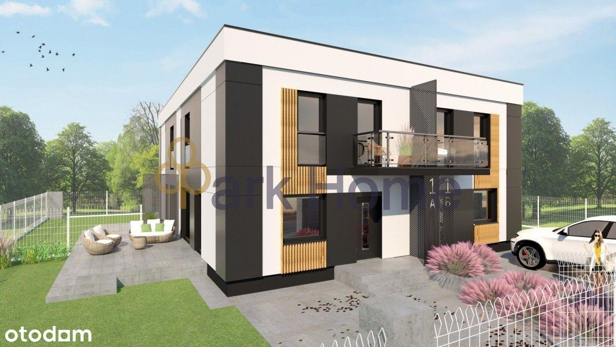 Inwestycja kameralnym dwupoziomowych apartamentów.