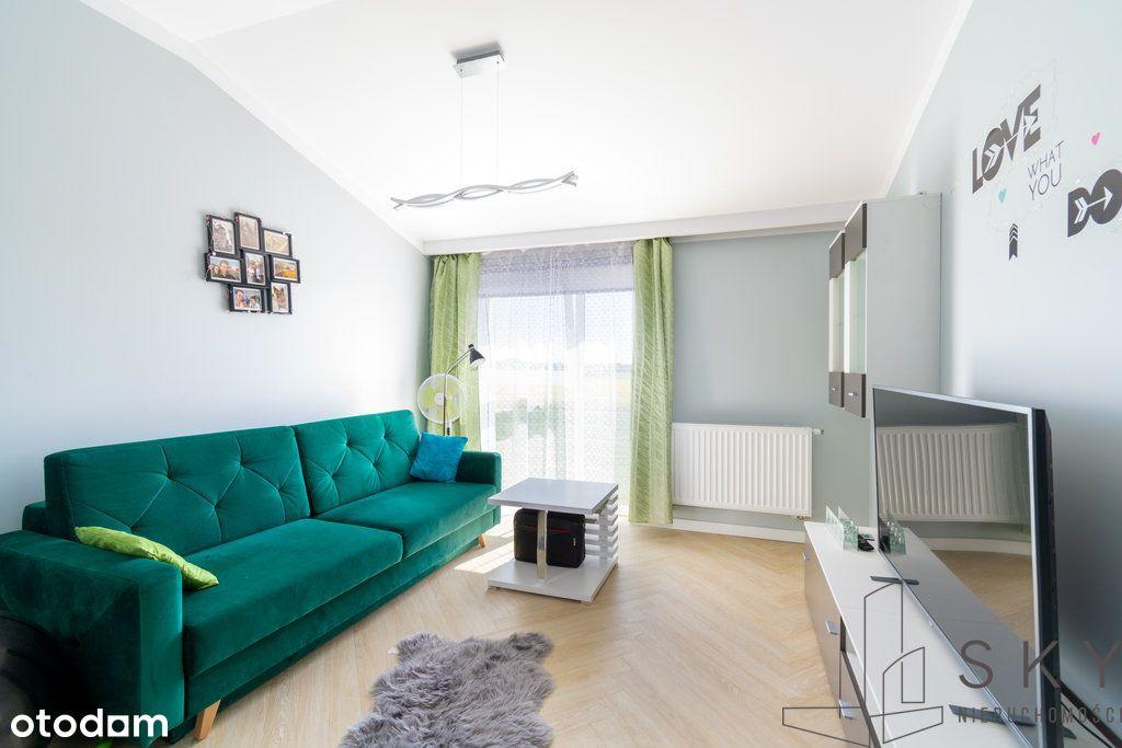 Umeblowane mieszkanie 3-pokojowe  54 m²  Kiełczów