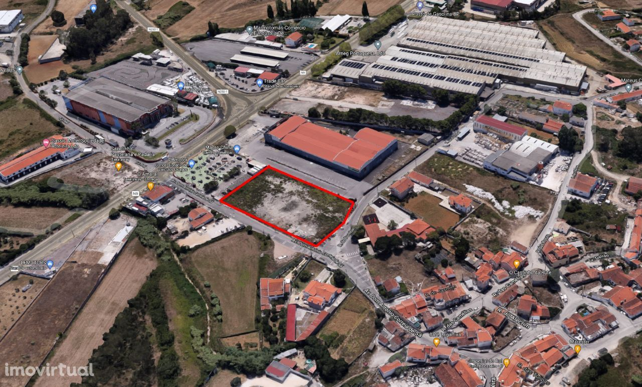 Terreno para arrendamento em Sintra / Ral