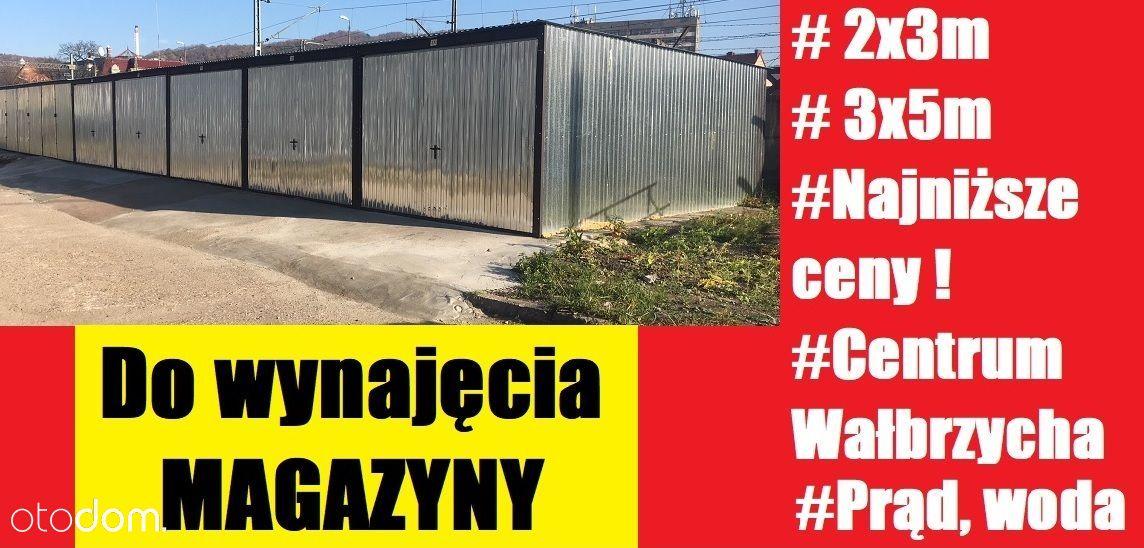 Blaszak Garaż Magazyn self storage 6/15m2 CENTRUM
