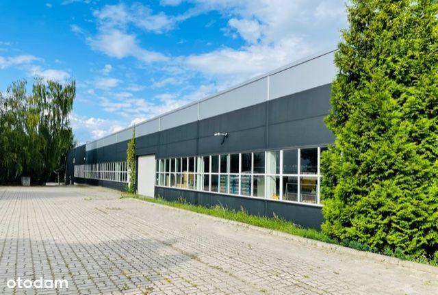 Hala produkcyjno- magazynowa + biura 3283 m2, plac