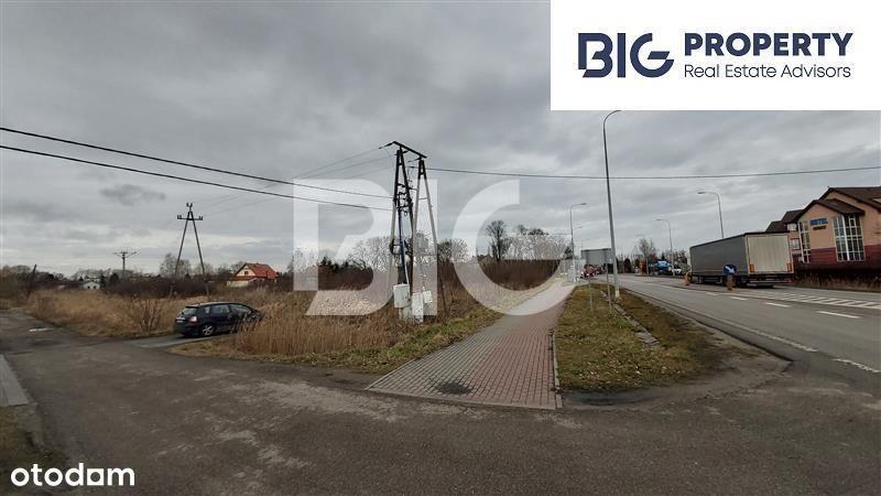 Działka mieszkaniowo-usługowa w Przejazdowie, 150m