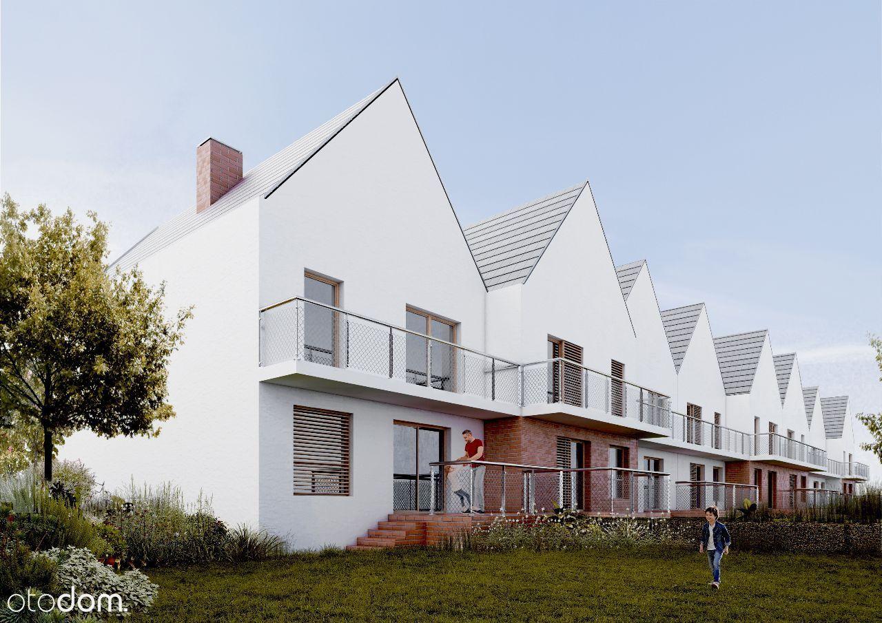 Mieszkanie w Kamieńcu Wr., balkon i antresola